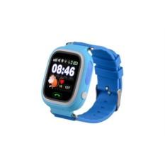 Голубые умные детские часы с GPS Smart Baby Watch Q80