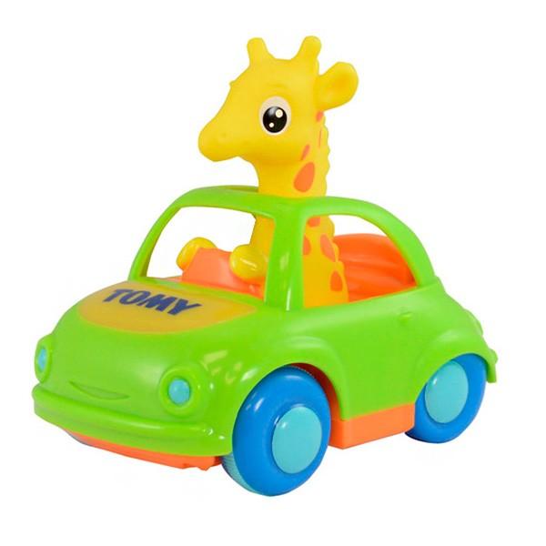Развивающая игрушка TOMY Веселый Жираф-Водитель
