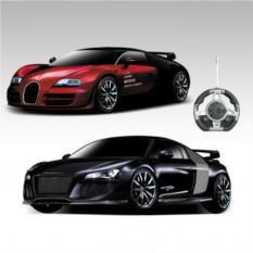 Радиоуправляемый конструктор-машинки Bugatti и Audi