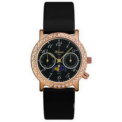 Женские  золотые  часы НИКА - «Дефиле»