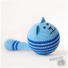 Игрушка-круглый кот Кошарик Барсик