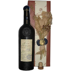 Коньяк 1974. Lheraud. Petite Champagne (gift box)