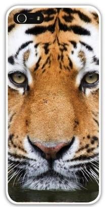Чехол-накладка для iphone 5/5S, тигр