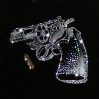Картина Swarovski Револьвер