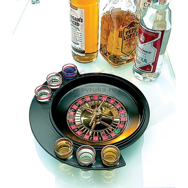 Алкогольная игра-набор Рулетка