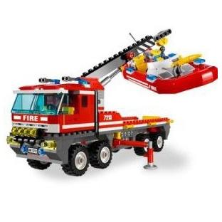Lego City «Внедорожник и спасательный плот»