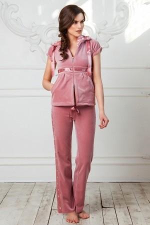 Домашний велюровый костюм для женщин Laete