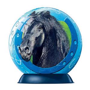 Шаровый пазл «Лошади »