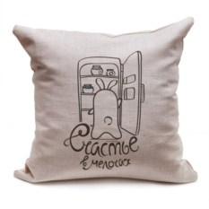 Декоративная подушка Кроль и холодильник