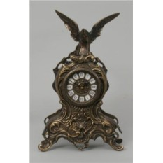 Бронзовые часы с орлом