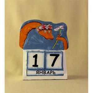 Календарь Удав-красотка (Декор цветной)