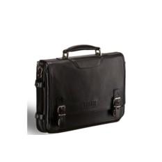 Черный классический портфель для документов Brialdi Bolzano