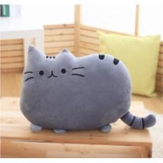 Серая подушка Pusheen the cat (Кот Пушин)