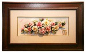 Керамическая картина Розовые мечты