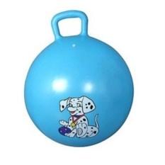 Голубой мяч-попрыгун с ручкой Непоседа