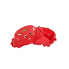 Песочница с крышкой Красная пчелка