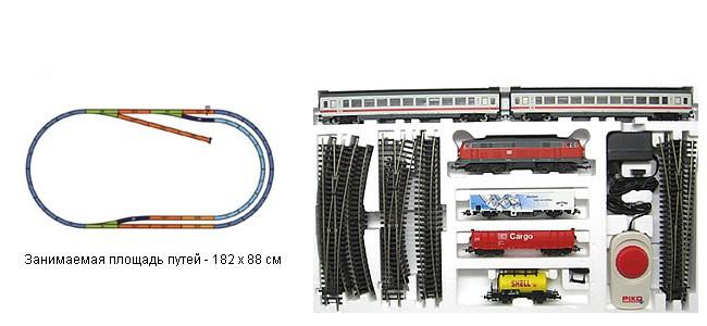 Стартовый набор PIKO 96912 «Грузовой и пассажирский составы»