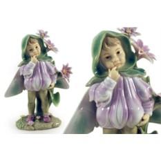 Статуэтка Девочка — фея (в капюшоне)
