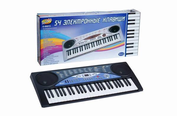 Синтезатор Doremi 54 клавиши с микрофоном