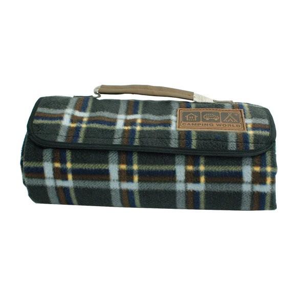 Зеленое покрывало для пикника Comforter Blanket
