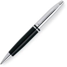 Шариковая ручка Cross Calais черно-серебристого цвета