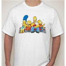 Мужская футболка Симпсоны