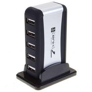USB Хаб 7 портов с адаптером