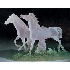 Статуэтка «Пара лошадей»