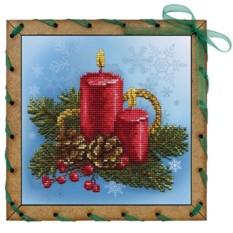Набор для вышивания Праздничные свечи
