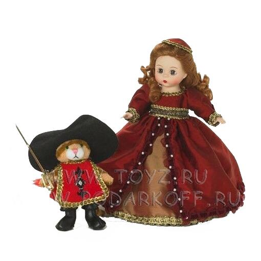 Кукла «Принцесса и кот»