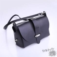 Черная матовая сумка Диана