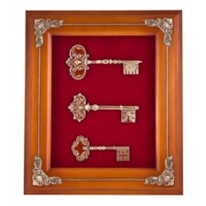 Оранжевая ключница Ключи. Благополучие