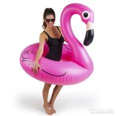 Надувной круг pink Flamingo