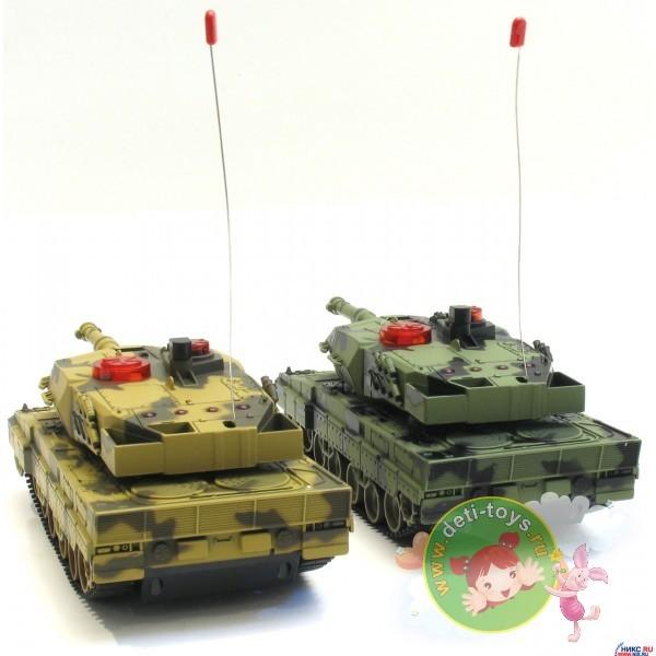 Радиоуправляемый набор Танковый бой HUAN QI