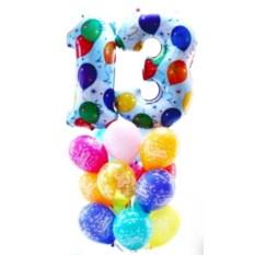 Букет шаров PARTY (1 или 2 цифры)