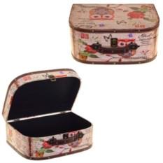 Шкатулка-чемоданчик Сова