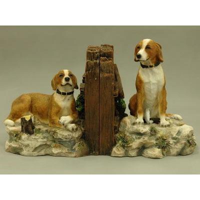 Подставка для книг «Две собаки»