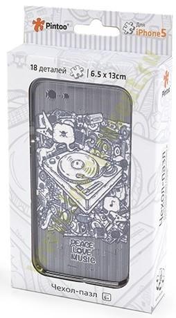 Пазл чехол для Iphone Rock style