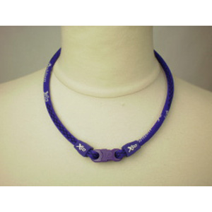 Ожерелье X50 фиолетовое 55 см  -  PHITEN