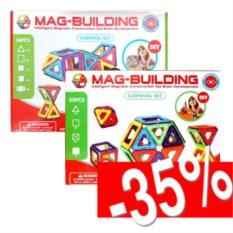 Набор из 2-х магнитных конструкторов Mag Building