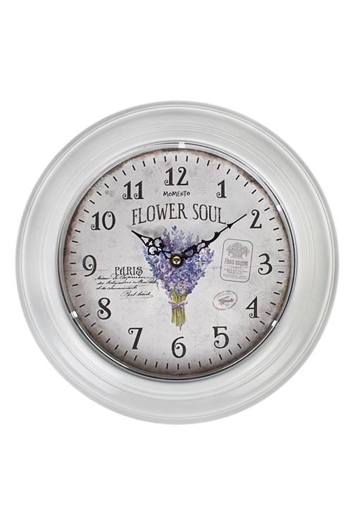 Настенные часы Сирень