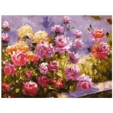 Картина по номерам «Букет роз»