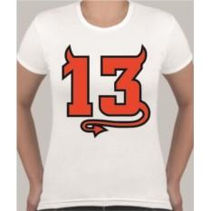 Женская футболка 13