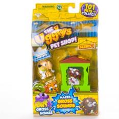 Игровой набор Ugglys Pet Shop Домик и фигурка
