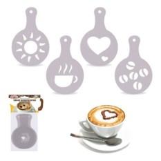 Набор декораторов для украшения кофе Удачный день