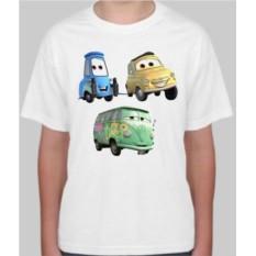 Детская футболка Дасти, Гвидо, Луиджи