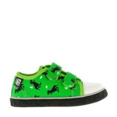 Ярко-зеленые кеды Kakadu