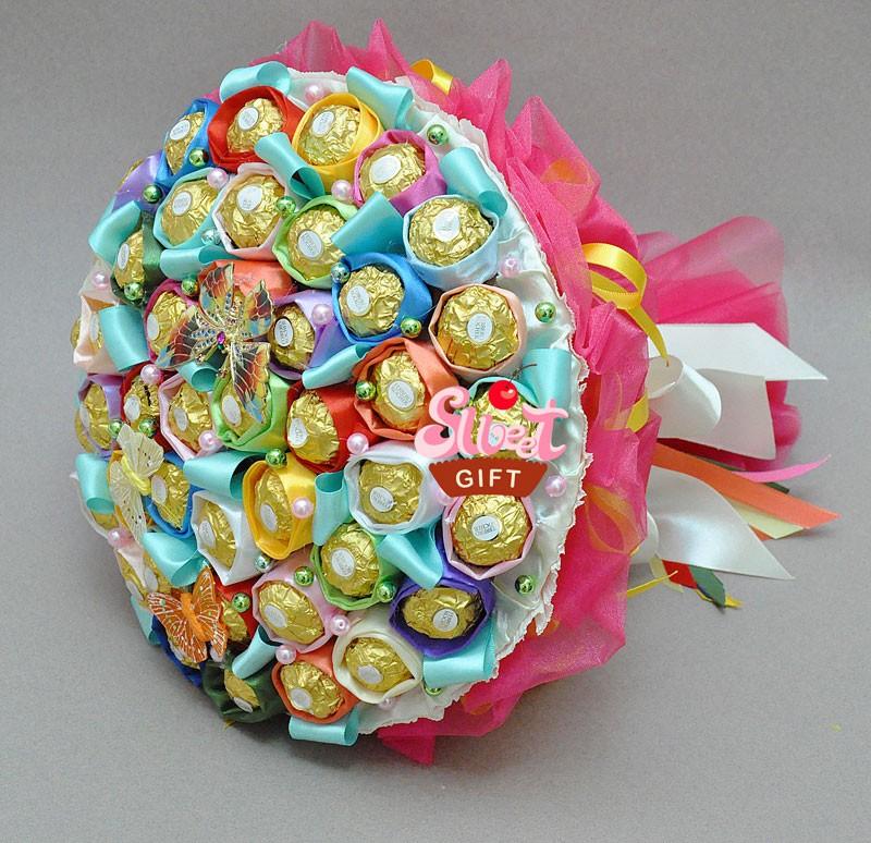 Букет из конфет Палитра