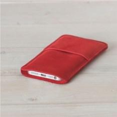 Красный кожаный чехол Walster для iPhone 5/5s
