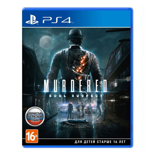 Игра Murdered: Soul Suspect (PS4)